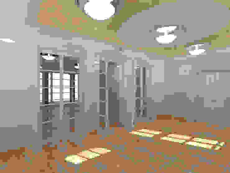 Der Umbau der Villa Hermannshof - Foyer Klassische Kongresscenter von Peter Stasek Architects - Corporate Architecture Klassisch MDF