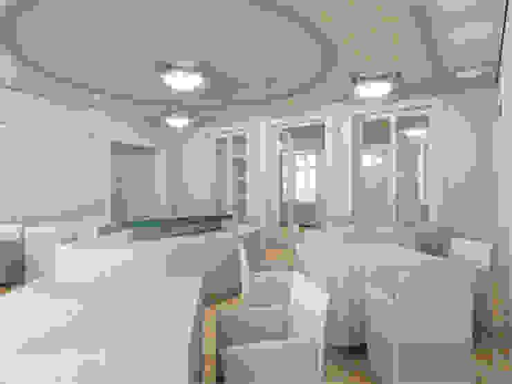 Der Umbau der Villa Hermannshof - Halle Klassische Kongresscenter von Peter Stasek Architects - Corporate Architecture Klassisch MDF