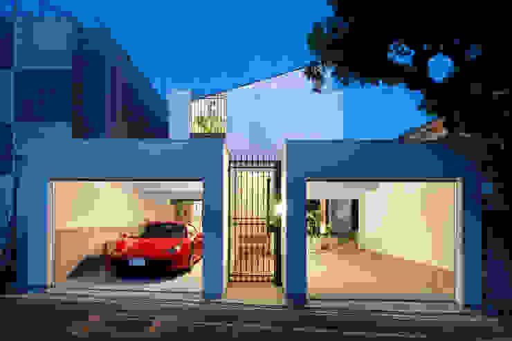 現代房屋設計點子、靈感 & 圖片 根據 近藤晃弘建築都市設計事務所 現代風 石器