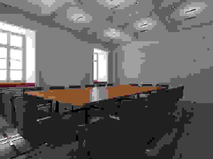 Der Umbau der Villa Hermannshof - Wassermann-Zimmer 1.OG Klassische Kongresscenter von Peter Stasek Architects - Corporate Architecture Klassisch MDF