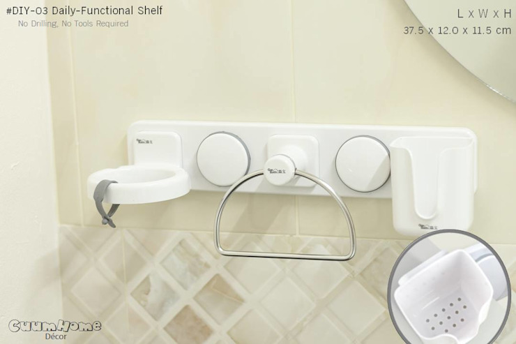 DIY03 ชั้นวางของอุปกรณ์ประจำวัน โดย Square Group Co.,Ltd.