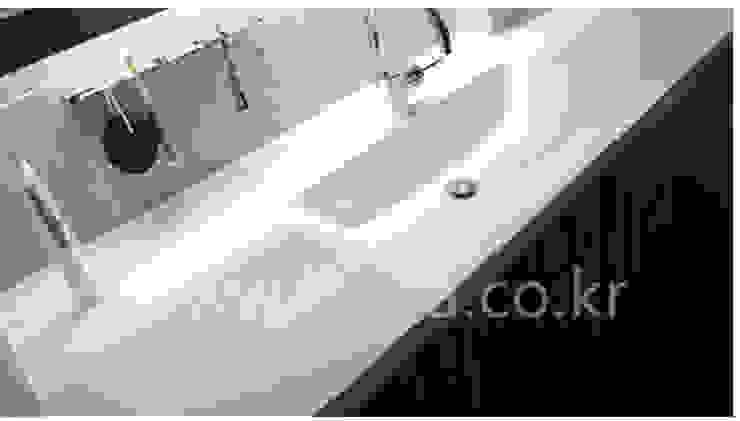 욕실 시공 Bath 모던스타일 욕실 by (주)토바시스템 모던