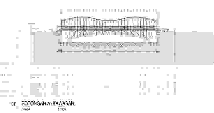 Jembatan Penyeberangan Orang Jayakarta:modern  oleh MahaStudio and Partner, Modern