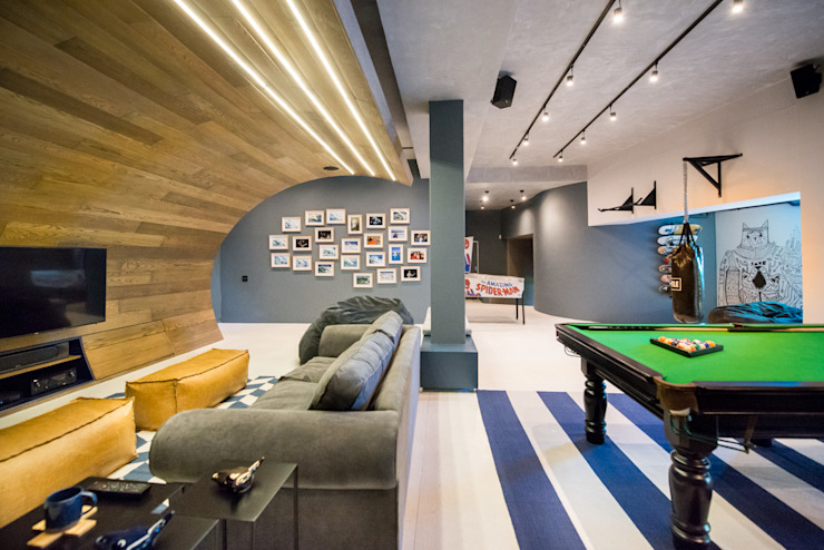 Urban Man Cave by Inhouse Industrial