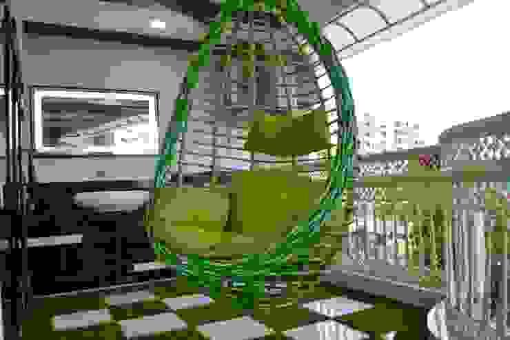 Apartment designed for Mr. Sanjay Kothari in Shahibuag: rustic  by Sanchi Shah,Rustic