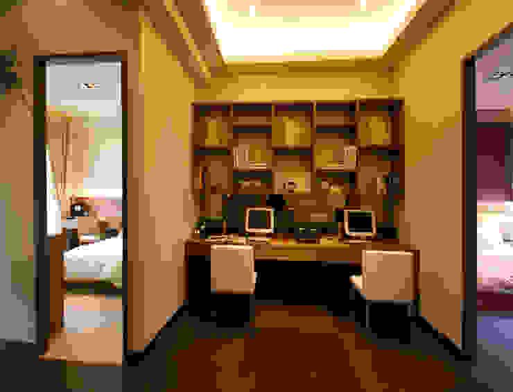 書房 根據 果仁室內裝修設計有限公司 日式風、東方風