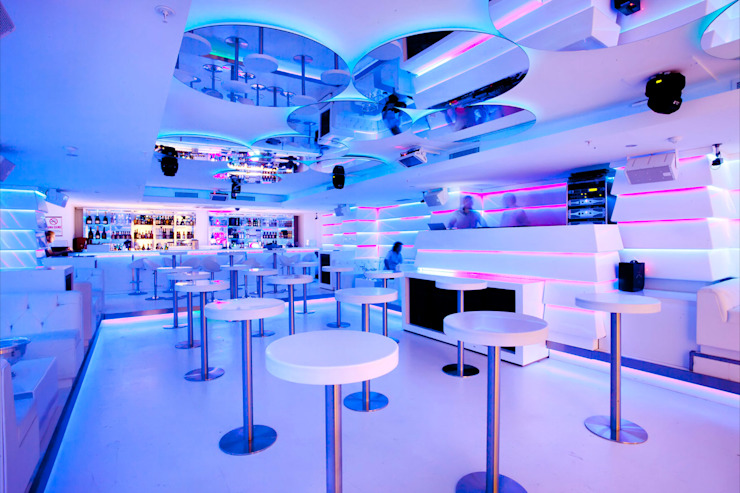 Richie Club Modern bars & clubs by Key Invest Interior Designer Istanbul Modern
