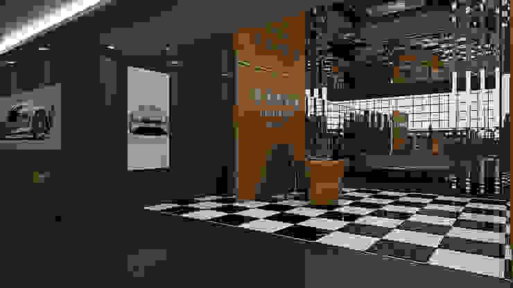 Yeniköy Motors Key Invest Interior Designer Istanbul Modern study/office