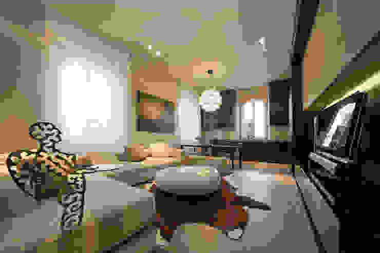 Salas de estilo moderno de Eusebi Arredamenti Moderno
