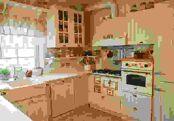 SHABBY CHIC DESIGN Cucina eclettica di RI-NOVO Eclettico Legno Effetto legno