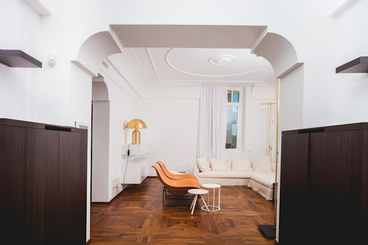 Livings modernos: Ideas, imágenes y decoración de Eusebi Arredamenti Moderno