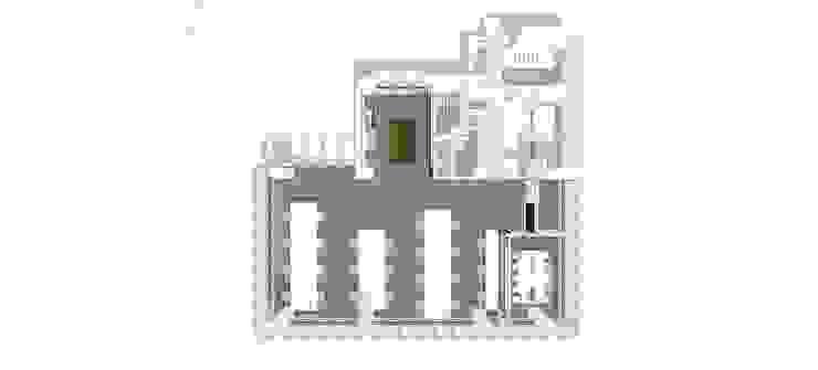 플라이셔 flysher 모던 스타일 컨퍼런스 센터 by (주)도시마을건축사사무소 모던