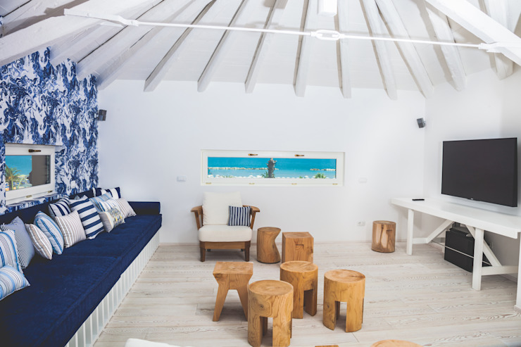 Salones minimalistas de Eusebi Arredamenti Minimalista