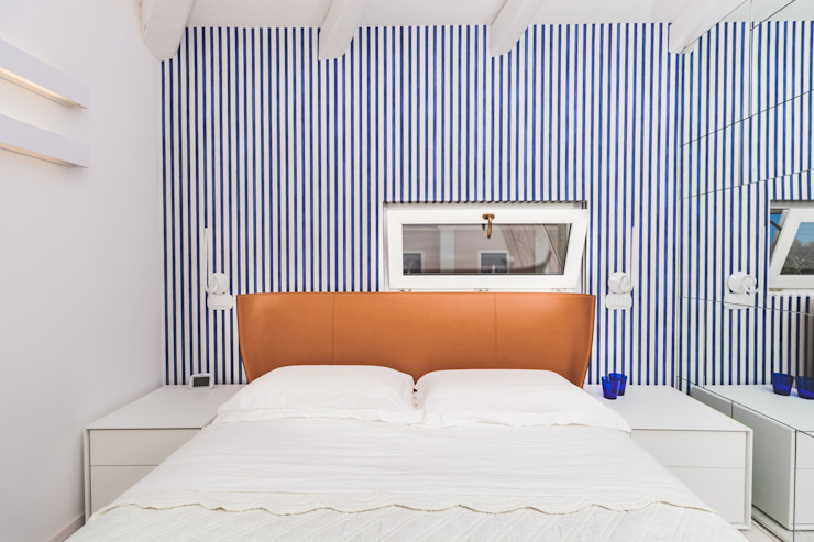 Dormitorios minimalistas de Eusebi Arredamenti Minimalista