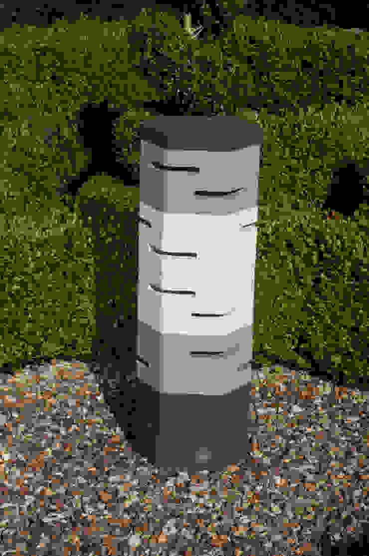 Holix IV in Charcoal Lustre, Grey Mist and Vanilla Ice: modern  by Jalu Ltd, Modern