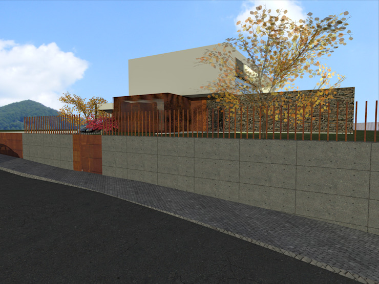 House in Lustosa por MO architect Moderno