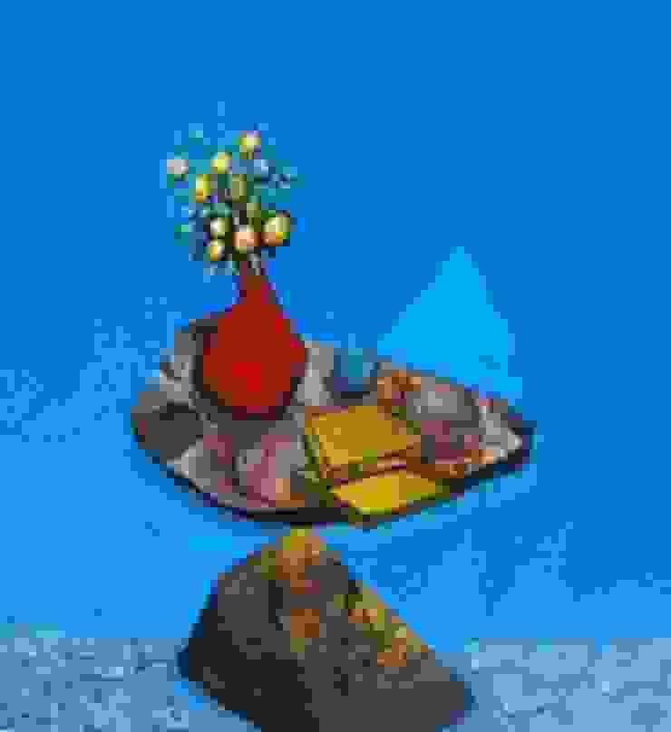 Flower Pot: asian  by Indian Art Ideas,Asian