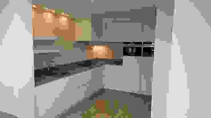 Foto 2 keuken Moderne keukens van Anne-Carien Interieurarchitect Modern