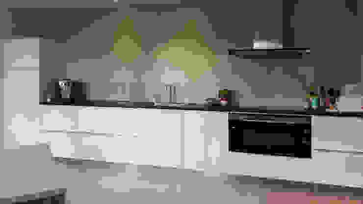 Foto 3 keuken Moderne keukens van Anne-Carien Interieurarchitect Modern