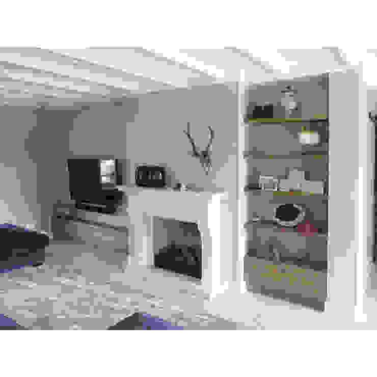 Livings de estilo moderno de Anne-Carien Interieurarchitect Moderno