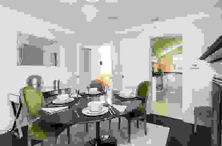 Lillieshall Road, London, SW4 Modern Dining Room by APT Renovation Ltd Modern