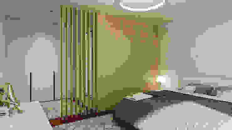 Moradia unifamliar - Tipologia T3 Closets modernos por Esboçosigma, Lda Moderno