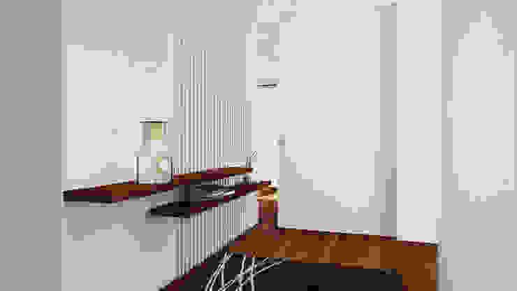 Esboçosigma, Lda Pasillos, vestíbulos y escaleras de estilo moderno