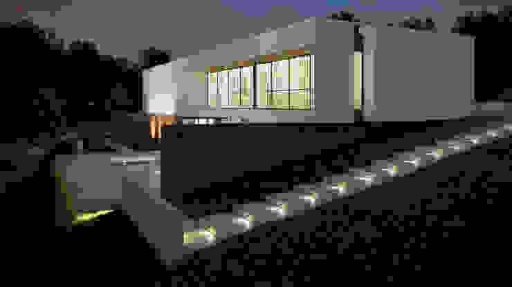 Casas de estilo minimalista de EsboçoSigma, Lda Minimalista