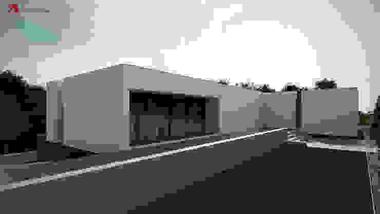 Minimalist houses by Esboçosigma, Lda Minimalist