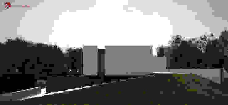 Moradia unifamiliar - Tipologia T4 Casas minimalistas por EsboçoSigma, Lda Minimalista