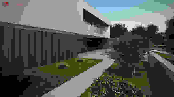 Moradia unifamiliar – Tipologia T4 Esboçosigma, Lda Casas minimalistas