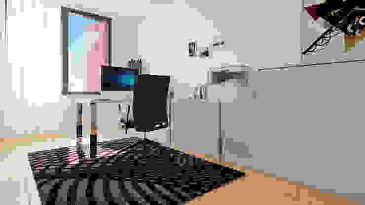 Minimalist study/office by Esboçosigma, Lda Minimalist