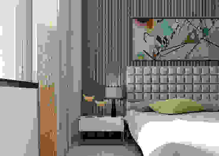 Minimalist bedroom by Esboçosigma, Lda Minimalist