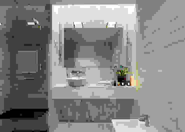 Esboçosigma, Lda Minimalist style bathroom