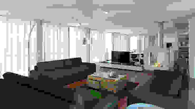 Minimalist living room by Esboçosigma, Lda Minimalist