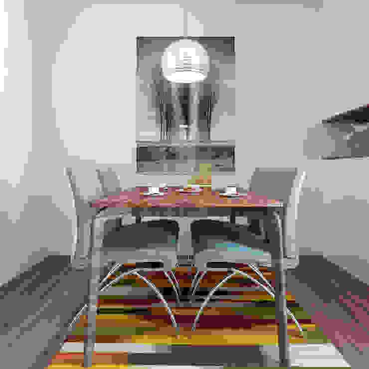 Minimalist dining room by Esboçosigma, Lda Minimalist