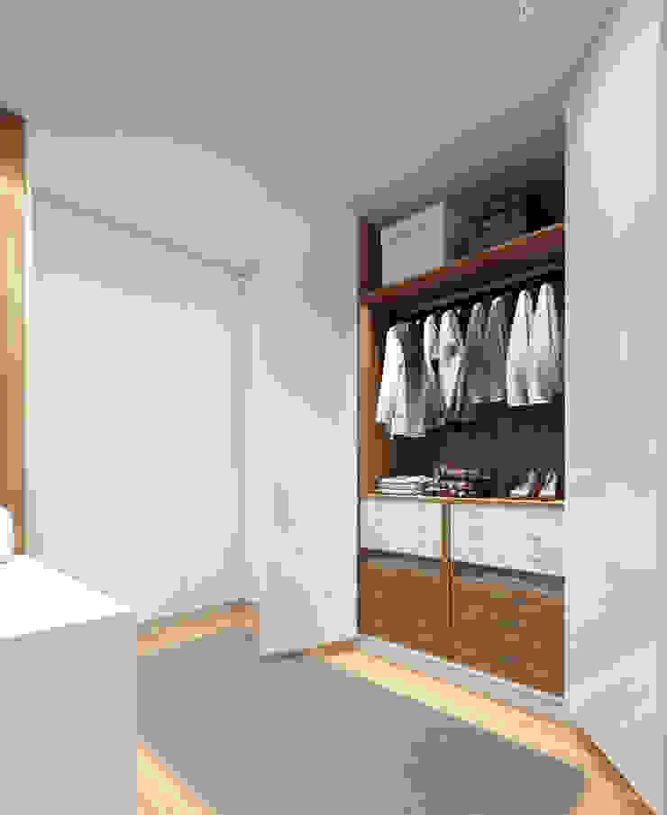 Minimalist dressing room by Esboçosigma, Lda Minimalist