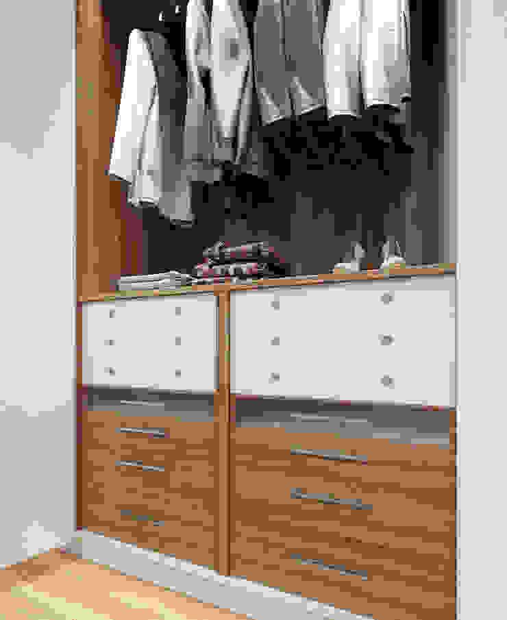 Moradia unifamiliar – Tipologia T4 Esboçosigma, Lda Closets minimalistas