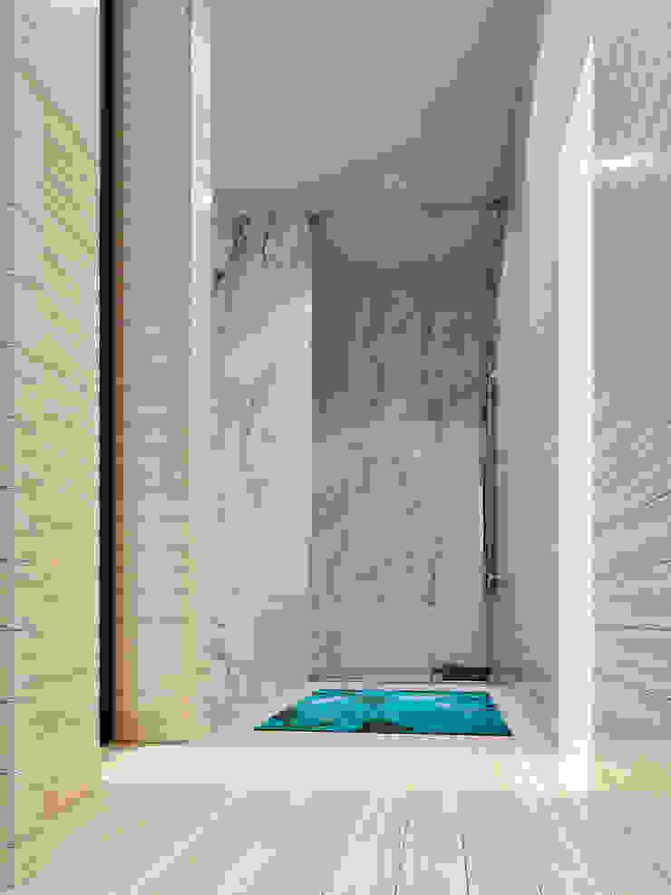 Minimalist bathroom by Esboçosigma, Lda Minimalist
