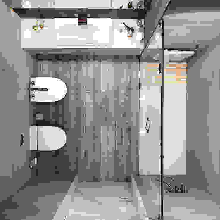 Salle de bain minimaliste par EsboçoSigma, Lda Minimaliste