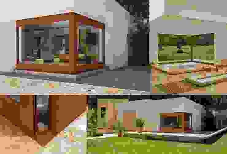 Casas modernas por homify Moderno Alumínio/Zinco