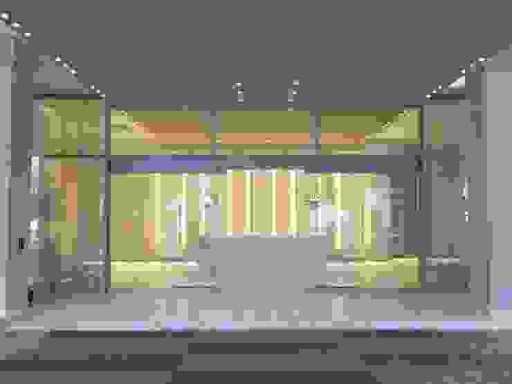 Acceso Pasillos, vestíbulos y escaleras de estilo moderno de Ecologik Moderno