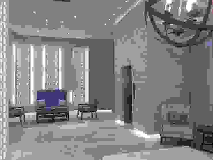 Sala de espera Pasillos, vestíbulos y escaleras de estilo moderno de Ecologik Moderno