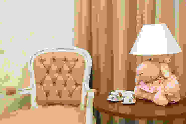 Mímesis Arquitetura e Interiores Classic style bedroom Beige