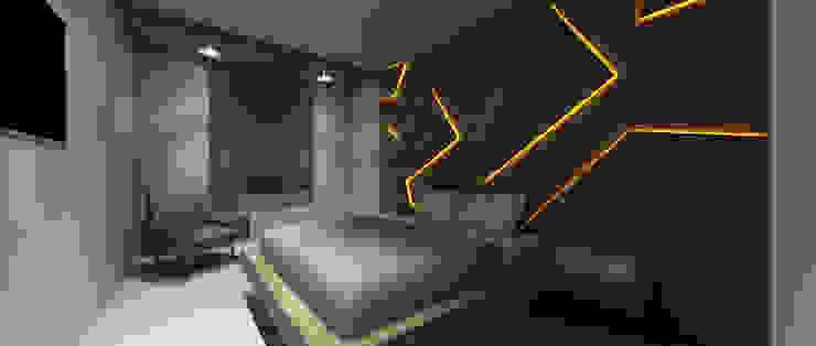 Dormitorios de estilo  por PL Architecture, Moderno