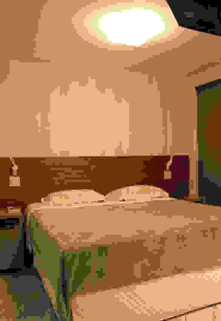 Camera da letto moderna di Rafael Mirza Arquitetura Moderno