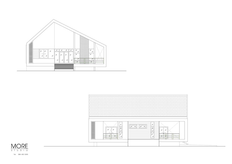 Minimalist houses by Morestudio Minimalist