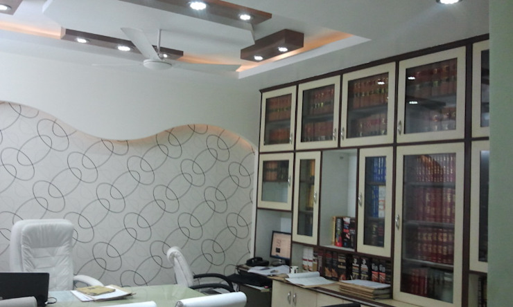 Office project in Malviya nagar, New delhi: modern  by The plan design and construction ,Modern