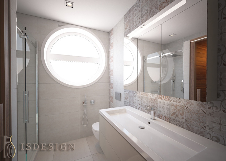 ISDesign group s.r.o. Baños de estilo ecléctico
