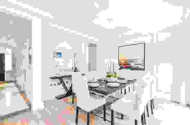 Sulivan Road, Hurlingham, SW6 Modern Dining Room by APT Renovation Ltd Modern